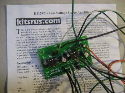 Make: the Stereo Kit