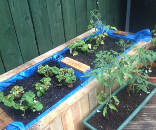 Raised Bed From Old Pallets