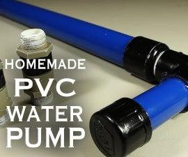 How to Make a PVC Water / Air / Vacuum Pump!