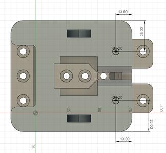 Design Process - Stationary Fixture - Reinforcement Mounting Holes