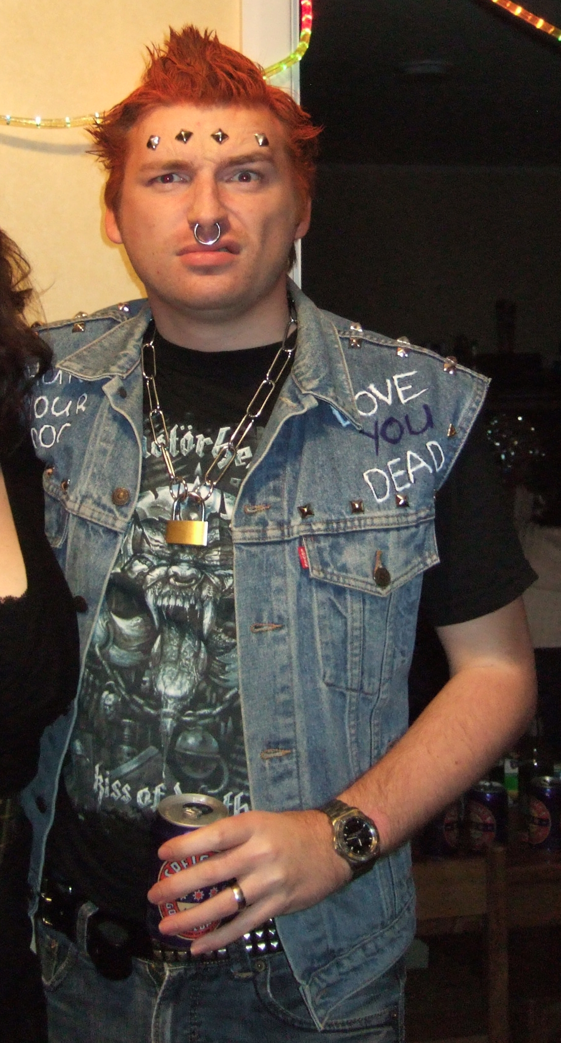 Vyvyan Basterd (The Young Ones) Costume