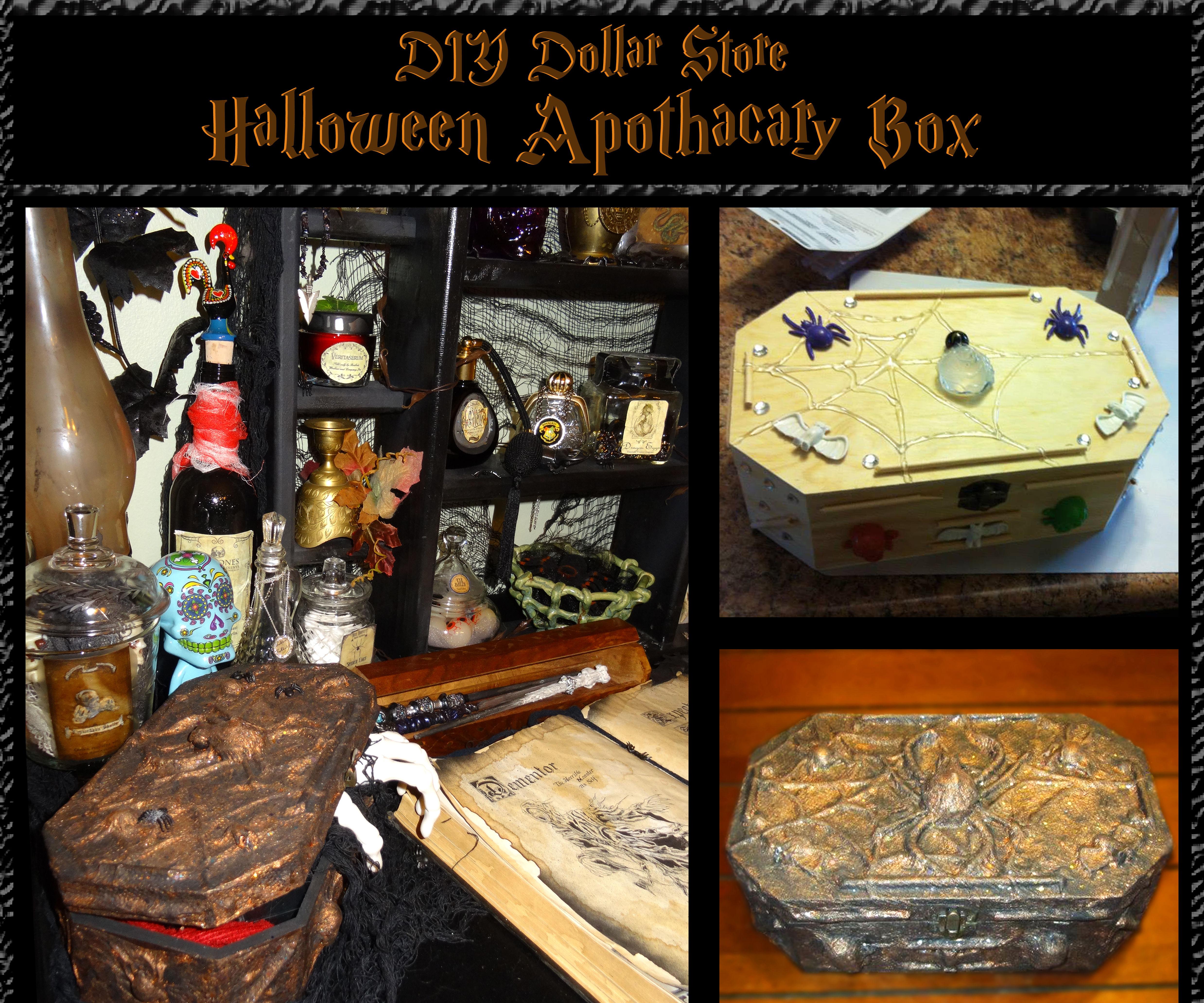 Halloween Apothecary Box