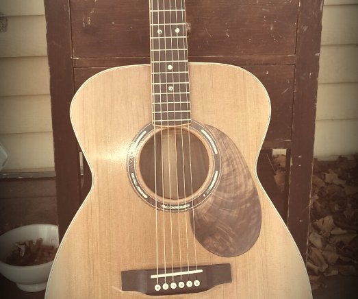 Building an Acoustic Guitar