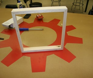 10 Minute Ply-Wood Frame Made at TechShop