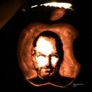 Steve Jobs Tribute Pumpkin