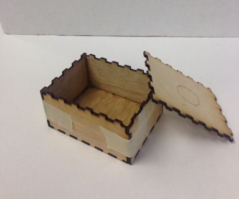 Laser Cut a Notched Box With BoxMaker