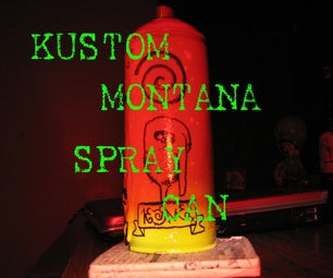 Kustom Montana Spray Can