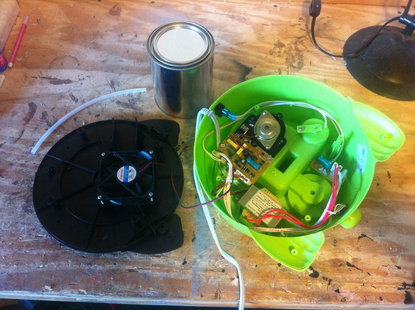 Take Apart & Prepare the Humidifier