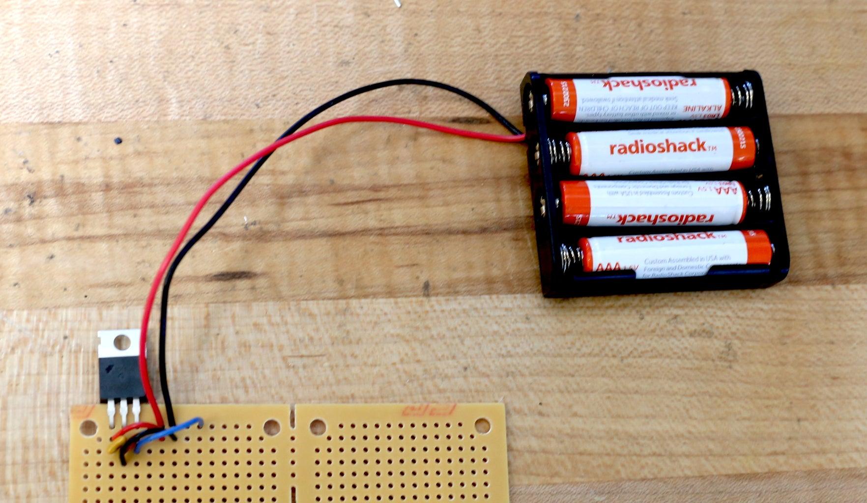 Scale Circuit: Voltage Regulator