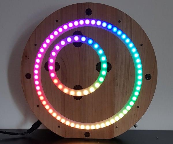 LEDura - Analog LED Clock