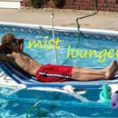 Pool Lounger with Built in Mist Sprayer