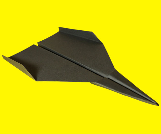 Paper Airplane Instructions - How to Make a Paper Airplane Jet | Marie