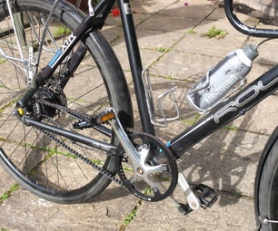 Remove Rear Wheel From Roux A8 Bicycle - Gates Carbon Drive