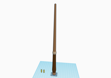 Make a Copy of the Wand Template
