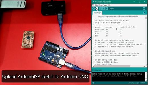 Burning the Bootloader on ATMega328-AU (Arduino Nano)