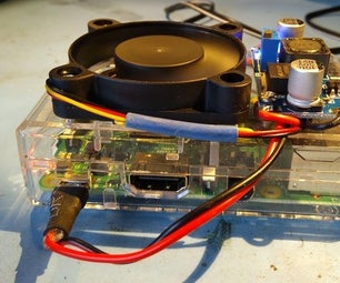 Raspberry Pi Power & Cooling Mods
