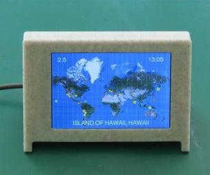 Global Earthquake Display