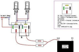 How to Make a Headlight Wiring Relay Kit : 3 Steps - Instructables | Relay Kit Wiring Diagram |  | Instructables