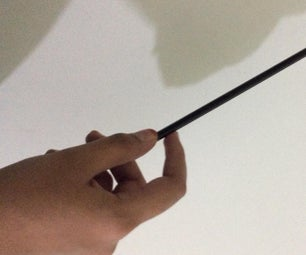 Wand With an Recycled Paper ( Paper Saving)