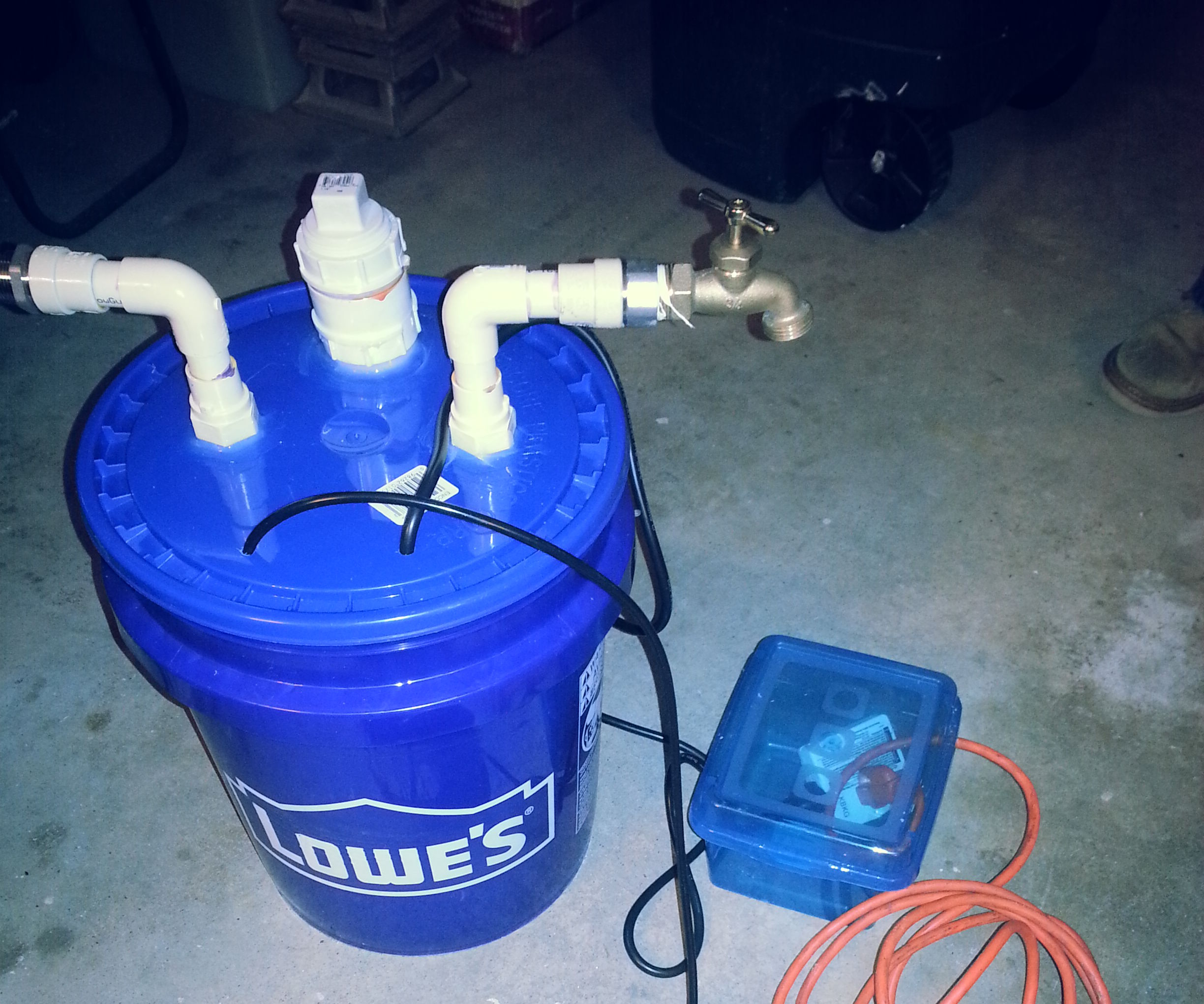 Awesomely Automatic Garden Watering Buddy - Complete with Reservoir for Nutrients.