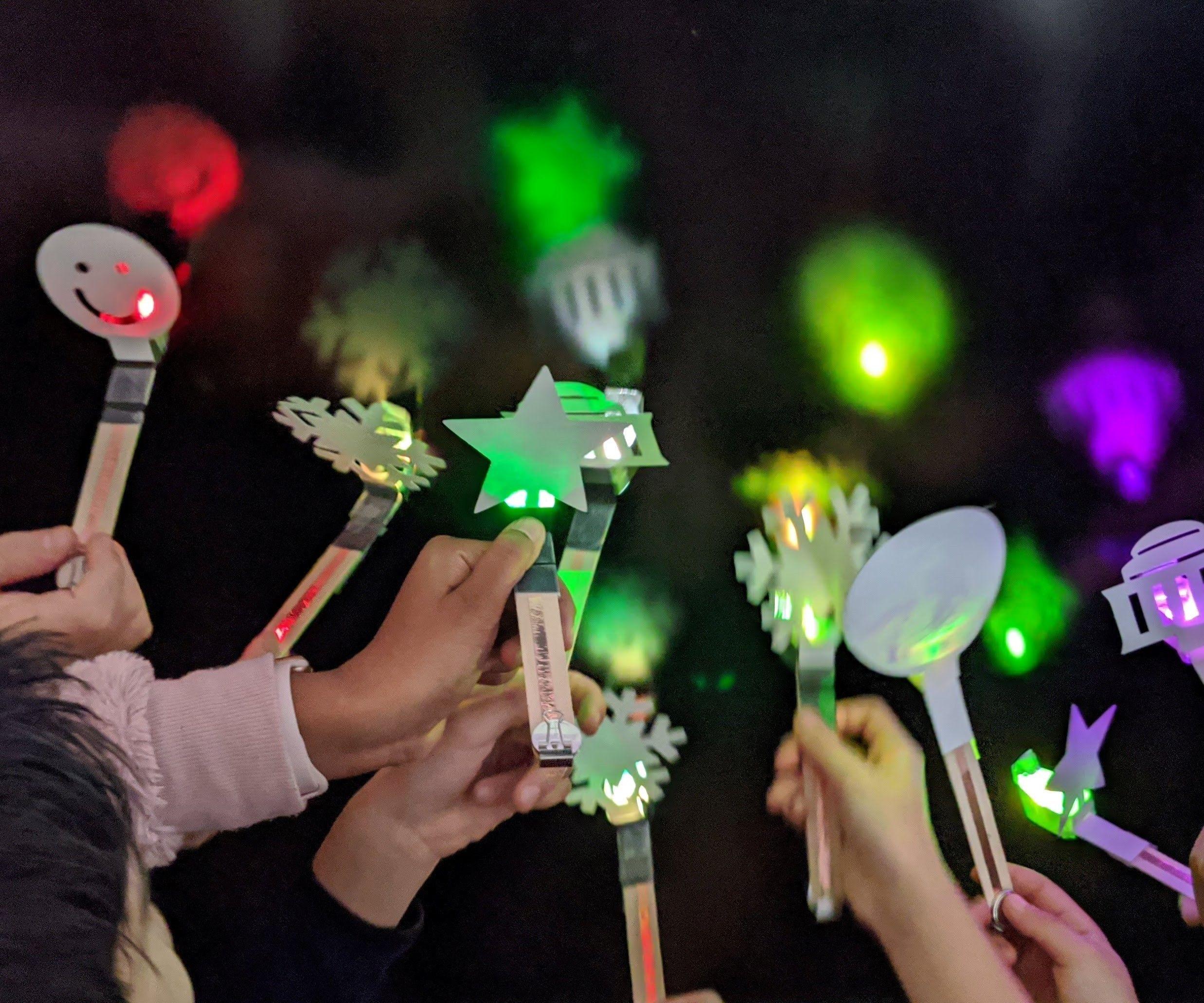 Festive Flashlights