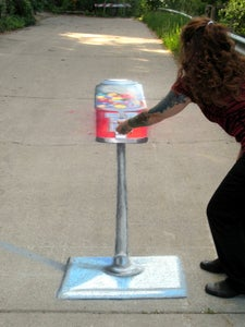 How to Do 3D Anamorphic Artwork and Sidewalk, Street, and Driveway  Art