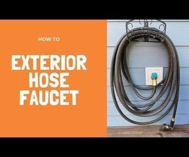 New Hose Faucet (without Soldering)