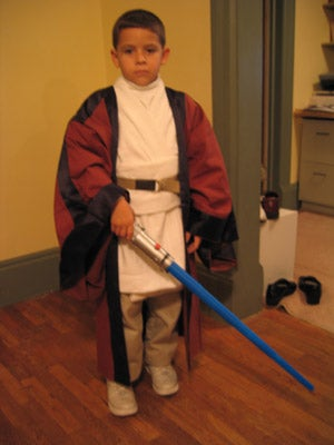 Kid's Obi Wan Costume (A-La Instructables)
