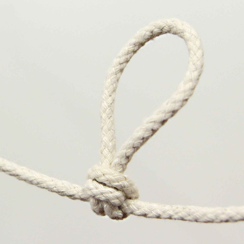 Creating the 'pulley' Knot (Butterfly Knot)