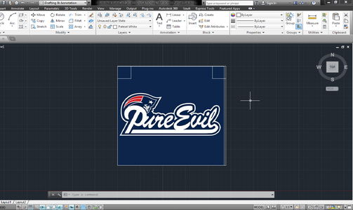 Attaching Picture Into Autocad