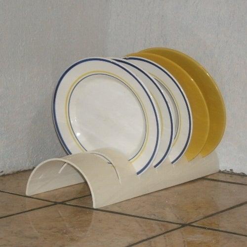 PVC Dish Rack
