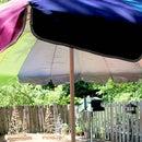 DIY Tablecloth With a Hole for Patio Umbrella