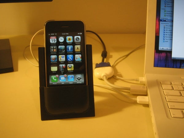 DIY Iphone Dock Using Only the Package Material