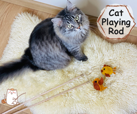 Fishing Rod Toy for Cat