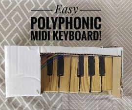 Arduino Easy Midi Keyboard