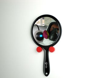 Hand Mirror Pegs - Your Primary Defense Against Beauty Errors and Attacking Robots.