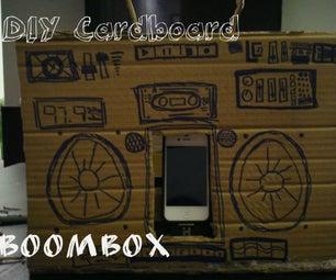 DIY Cardboard IPod Boombox
