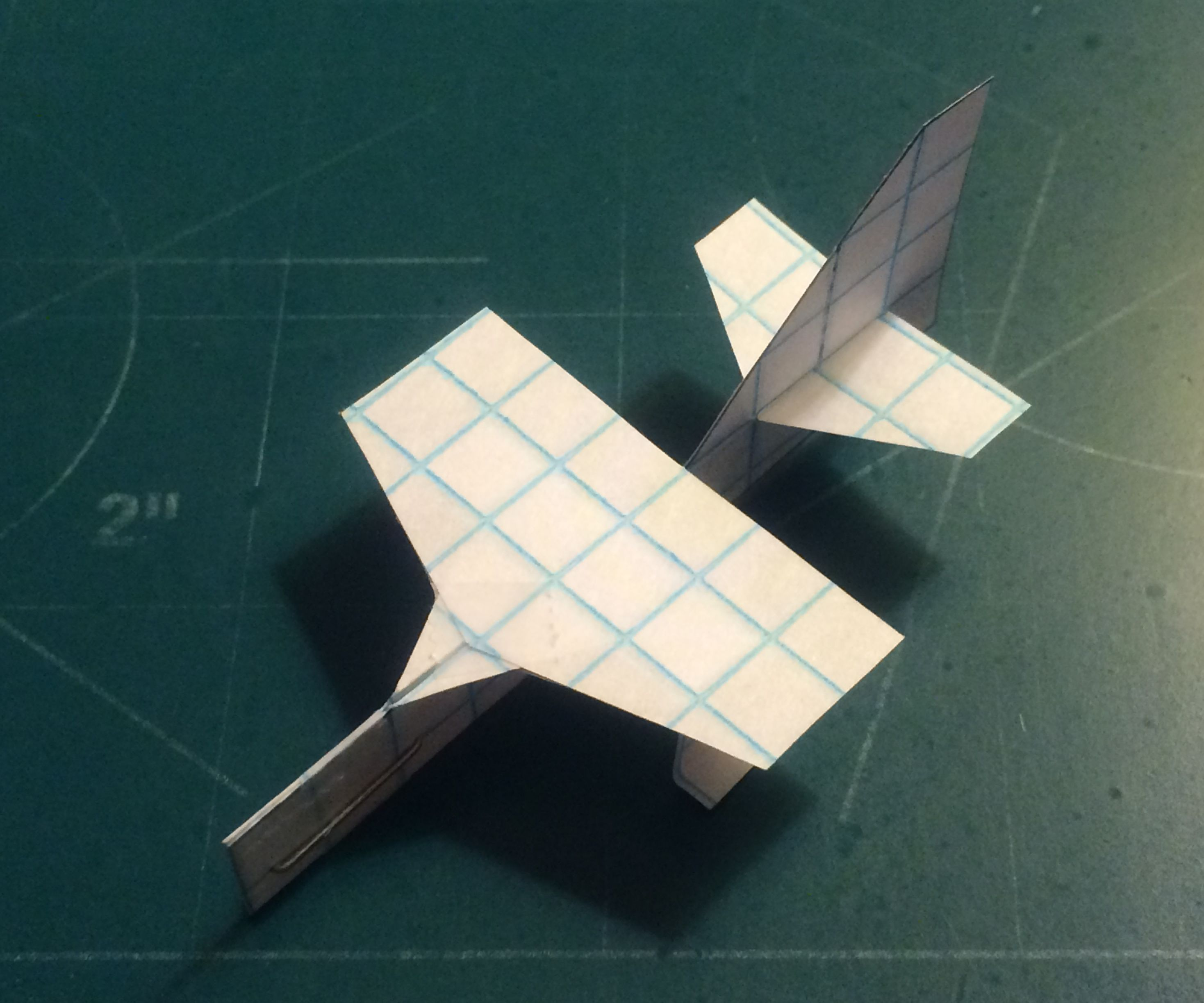 How To Make The Turbo SkyGnat Paper Airplane