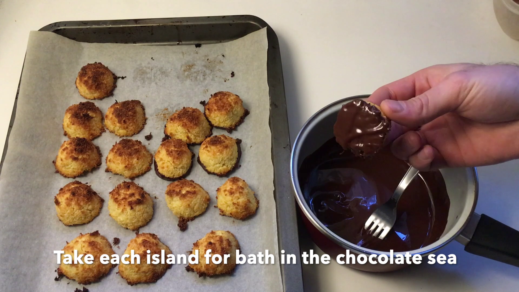 Making Them Even More Delicious With a Chocolate Bath and ...