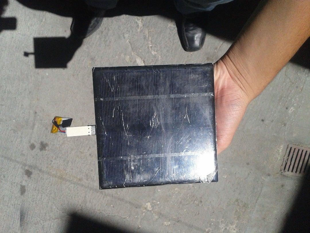 Cargador Solar USB Super Sencillo