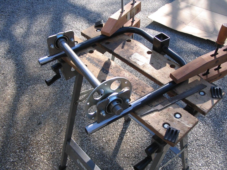 Rear Swingarm, Axle and Hub