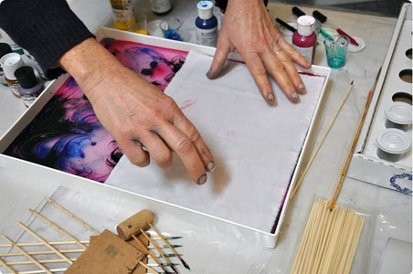 Applying the Paints to Your Fabric