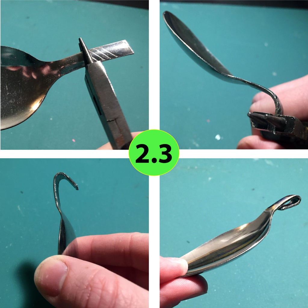Making the Spoon Pendant