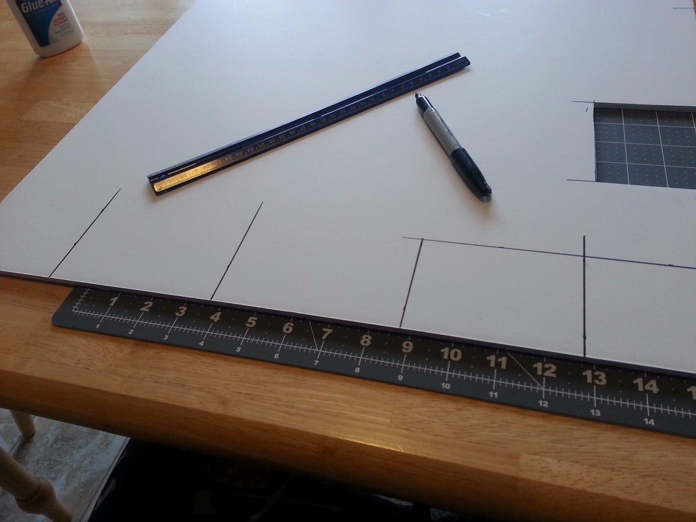 Draw Lines for Cutting