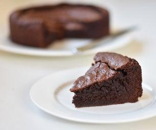 餐具室主食巧克力软糖蛋糕