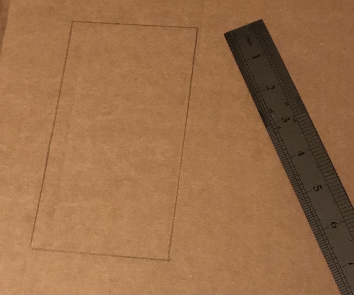 Measuring and Cutting the Holder