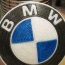 3D Printed BMW Roundel