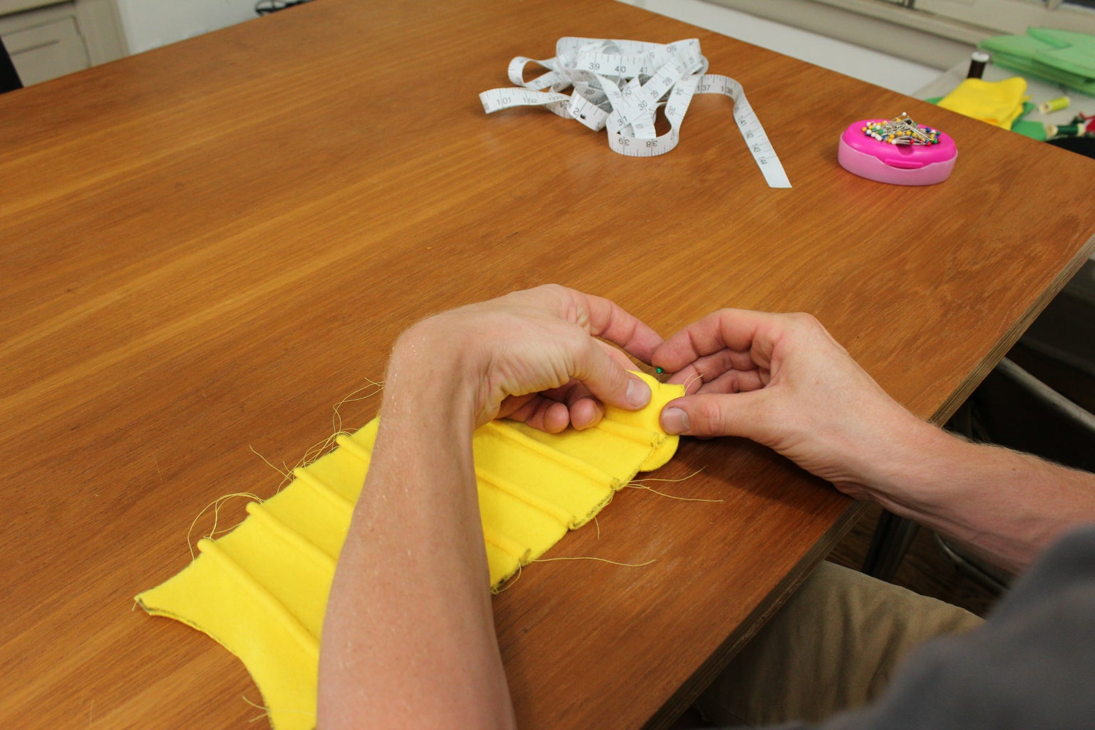 Sewing the Chest