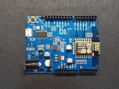 Capture & Send Images With ESP32-Cam Using ESP8266 WeMos D1 R1 Wifi Processor With Uno