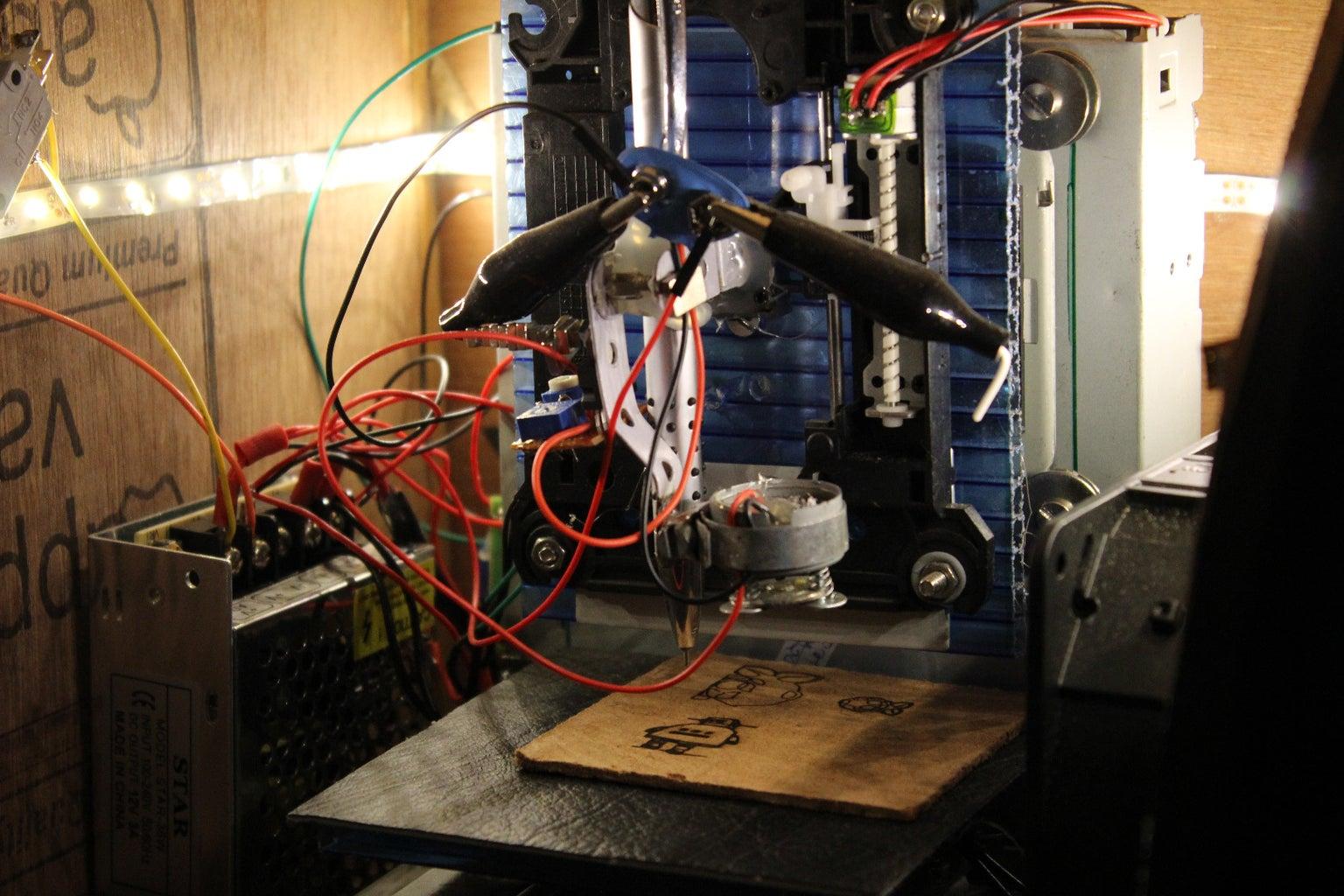 Laser Mounting